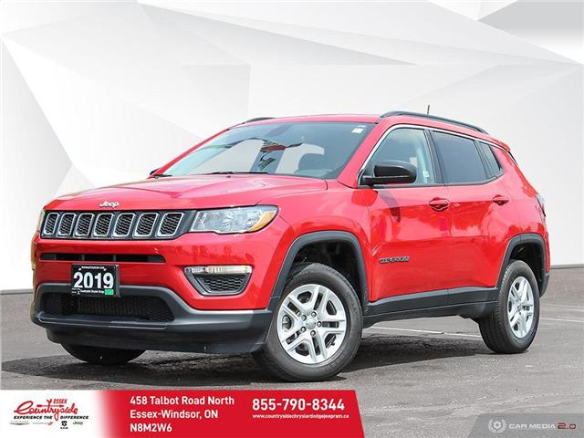 2019 Jeep Compass Sport (Stk: 61066) in Essex-Windsor - Image 1 of 30