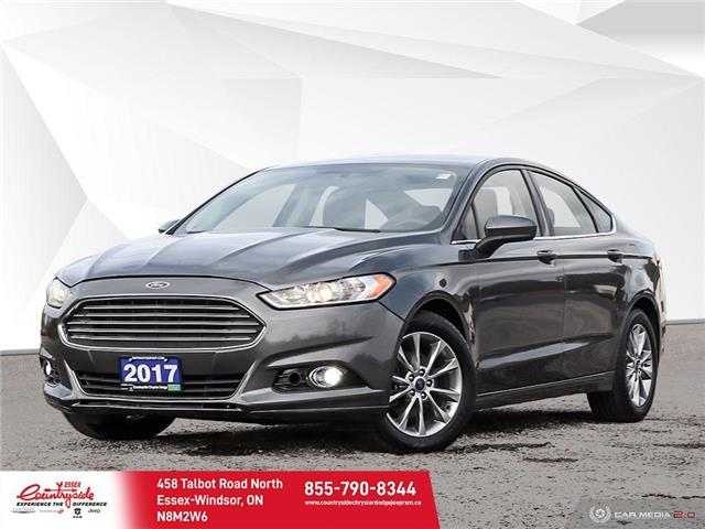 2017 Ford Fusion SE (Stk: 61158) in Essex-Windsor - Image 1 of 28