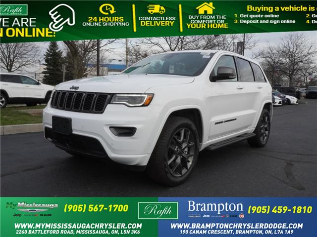 2021 Jeep Grand Cherokee Limited (Stk: 21046) in Mississauga - Image 1 of 14