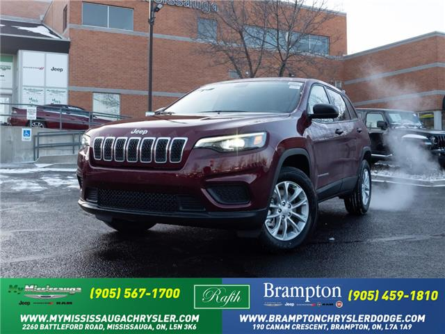 2021 Jeep Cherokee Sport (Stk: 21067) in Mississauga - Image 1 of 6