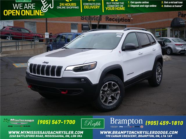 2021 Jeep Cherokee Trailhawk (Stk: 21063) in Mississauga - Image 1 of 6