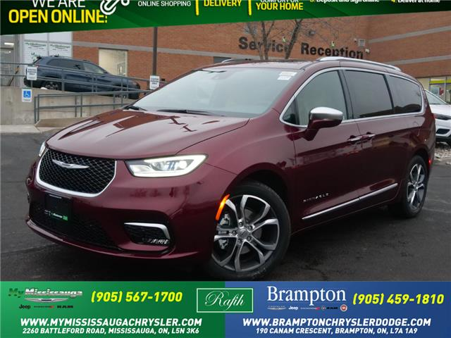 2021 Chrysler Pacifica Pinnacle (Stk: 21146) in Mississauga - Image 1 of 6