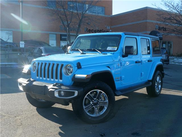 2021 Jeep Wrangler Unlimited Sahara (Stk: 21228) in Mississauga - Image 1 of 6