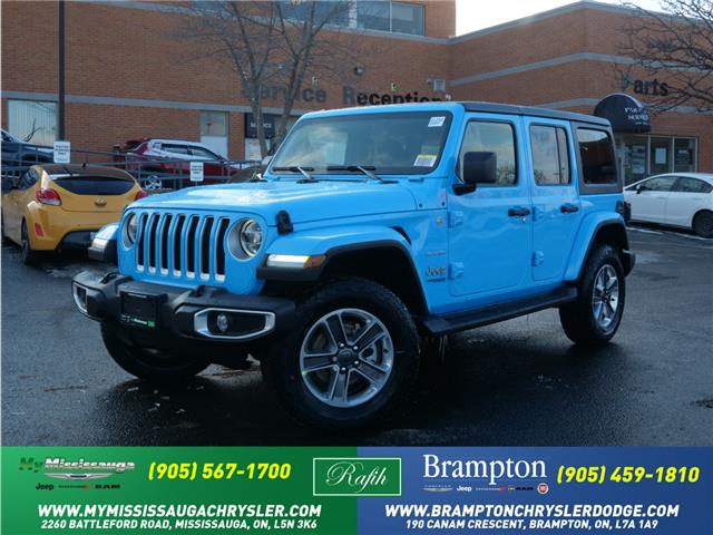 2021 Jeep Wrangler Unlimited Sahara (Stk: 21232) in Mississauga - Image 1 of 6