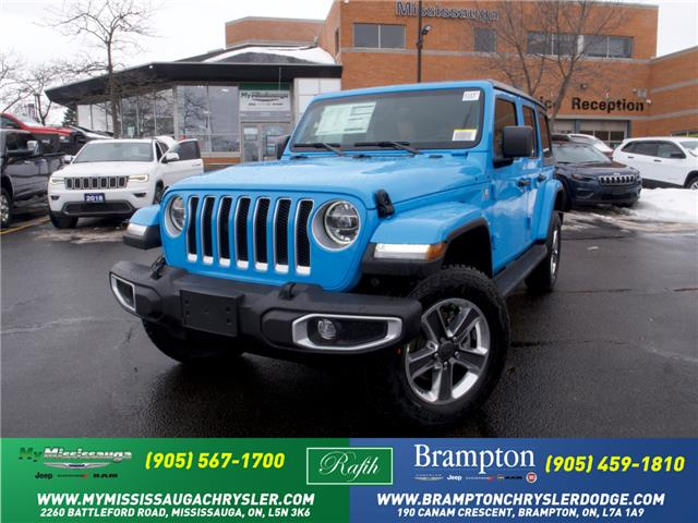 2021 Jeep Wrangler Unlimited Sahara (Stk: 21247) in Mississauga - Image 1 of 6