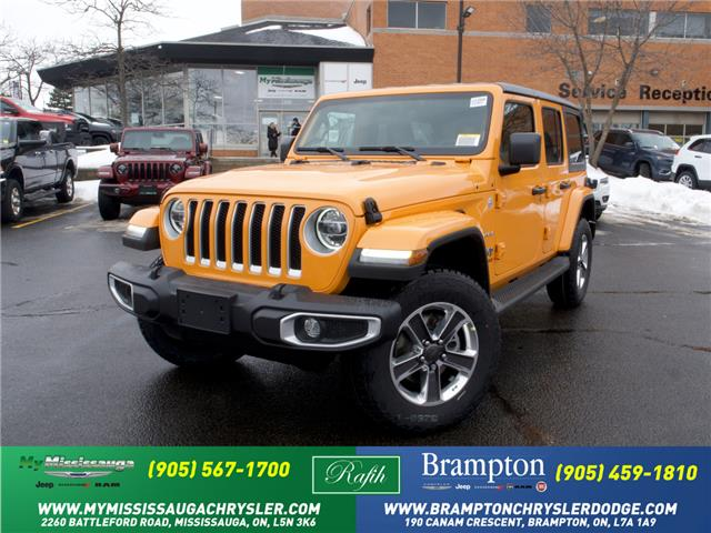 2021 Jeep Wrangler Unlimited Sahara (Stk: 21266) in Mississauga - Image 1 of 6