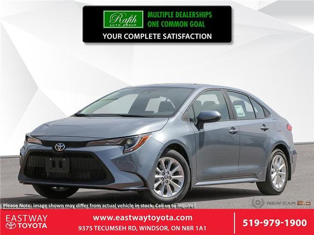 2021 Toyota Corolla LE 5YFBPMBE9MP150186 CO0186 in Windsor