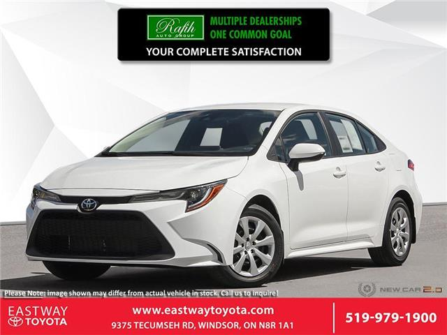 2021 Toyota Corolla LE 5YFBPMBE0MP150545 CO0545 in Windsor