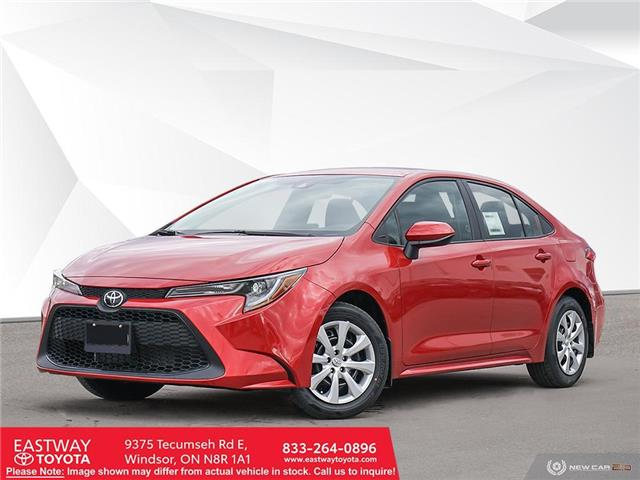2021 Toyota Corolla LE 5YFBPMBE8MP192316 CO2316 in Windsor