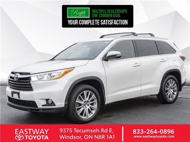 2016 Toyota Highlander XLE (Stk: PR5297A) in Windsor - Image 1 of 24