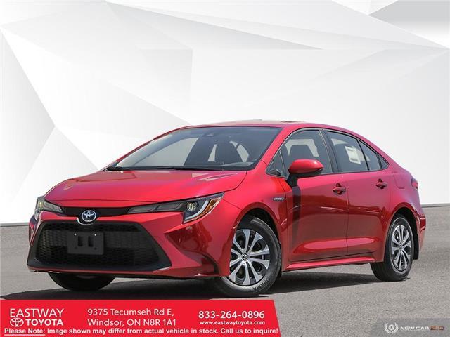 2021 Toyota Corolla Hybrid Base w/Li Battery (Stk: CO8100) in Windsor - Image 1 of 11