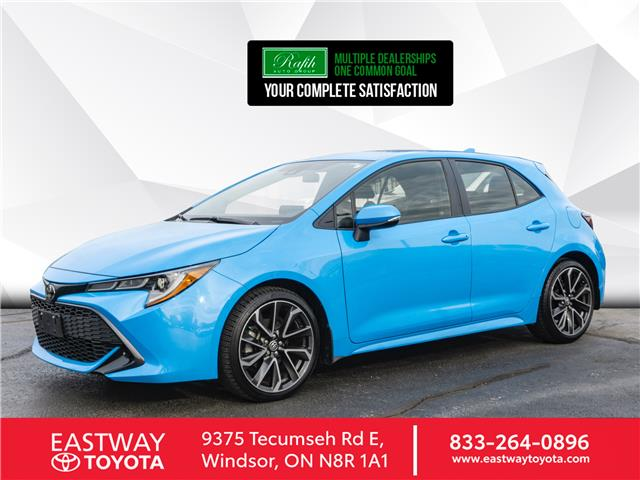 2019 Toyota Corolla Hatchback Base (Stk: PR0684) in Windsor - Image 1 of 21