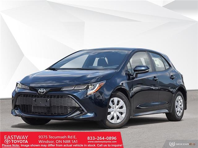 2021 Toyota Corolla Hatchback Base JTNK4MBE7M3132122 CO2122 in Windsor