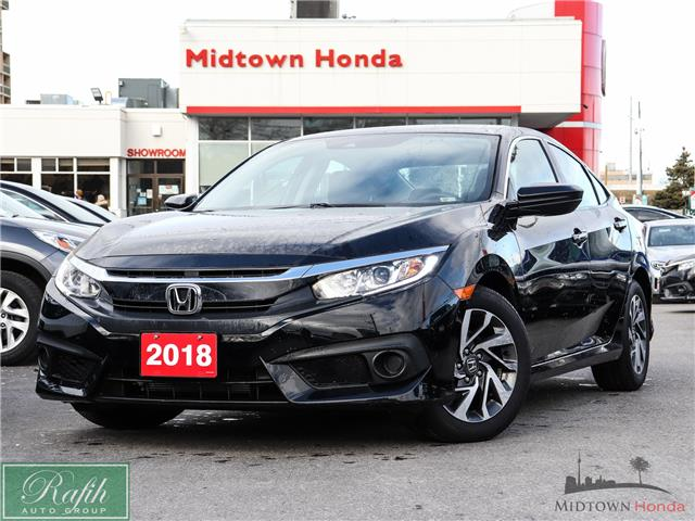 2018 Honda Civic EX (Stk: 2201734A) in North York - Image 1 of 28