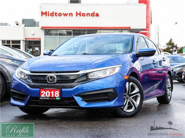 2018 Honda Civic LX (Stk: 2210294A) in North York - Image 1 of 25