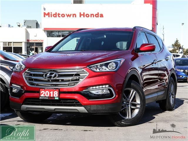 2018 Hyundai Santa Fe Sport 2.4 Base (Stk: P14065A) in North York - Image 1 of 28