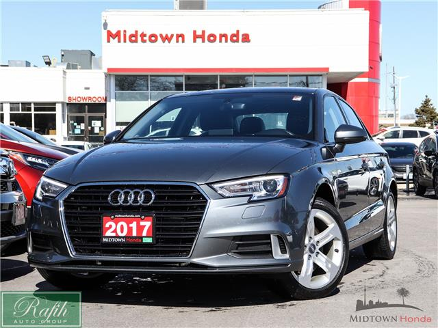 2017 Audi A3 2.0T Komfort (Stk: P14561) in North York - Image 1 of 28