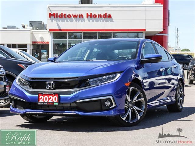2020 Honda Civic Touring (Stk: P14874) in North York - Image 1 of 30