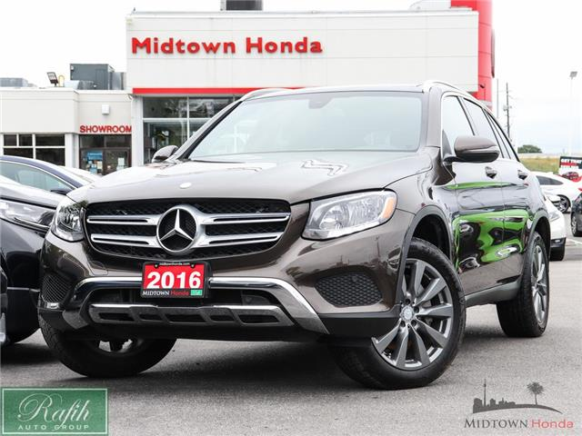 2016 Mercedes-Benz GLC-Class Base (Stk: P14871) in North York - Image 1 of 26