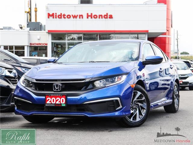 2020 Honda Civic EX (Stk: P14985) in North York - Image 1 of 28