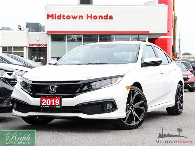 2019 Honda Civic Sport (Stk: P14995) in North York - Image 1 of 28