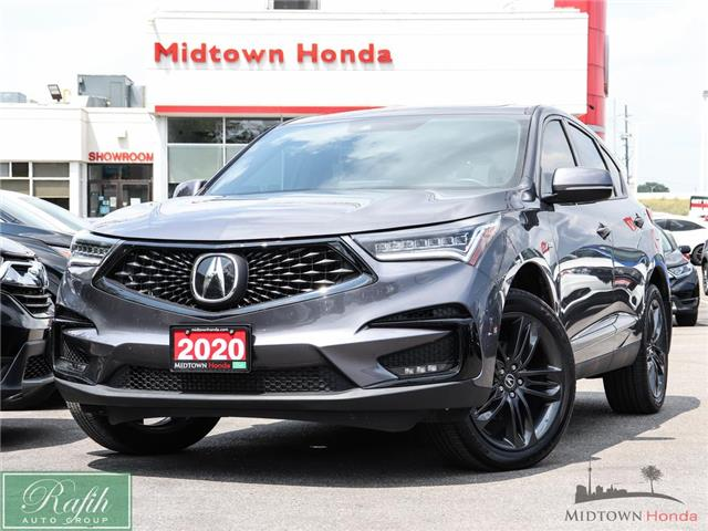 2020 Acura RDX A-Spec (Stk: P15040) in North York - Image 1 of 29