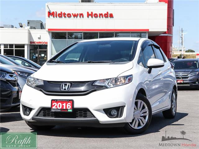 2016 Honda Fit LX (Stk: P15043A) in North York - Image 1 of 27