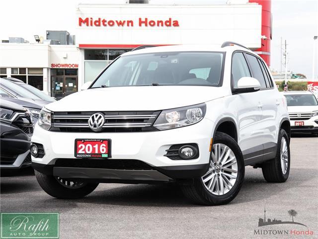 2016 Volkswagen Tiguan Comfortline (Stk: P15299) in North York - Image 1 of 25