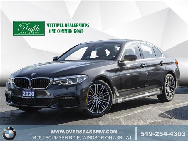 2020 BMW 530i xDrive (Stk: B8241) in Windsor - Image 1 of 22