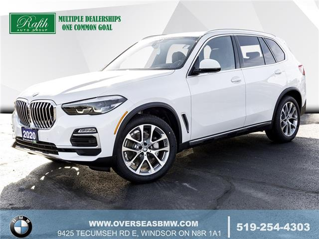 2020 BMW X5 xDrive40i (Stk: B8216) in Windsor - Image 1 of 13