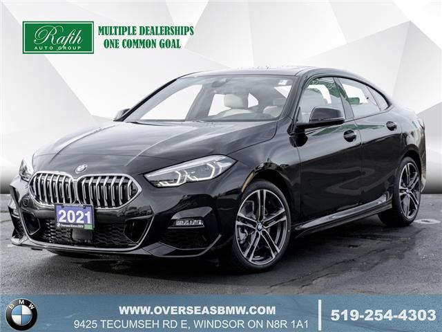 2021 BMW 228i xDrive Gran Coupe WBA73AK09M7G58258 B8362 in Windsor