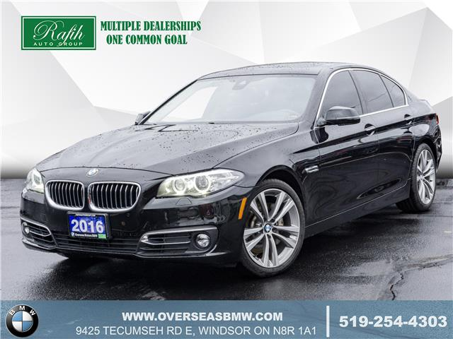 2016 BMW 535i xDrive (Stk: B8132A) in Windsor - Image 1 of 22