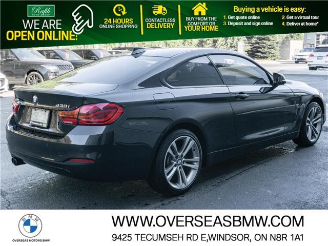 2018 BMW 430i xDrive (Stk: B8088A) in Windsor - Image 1 of 7