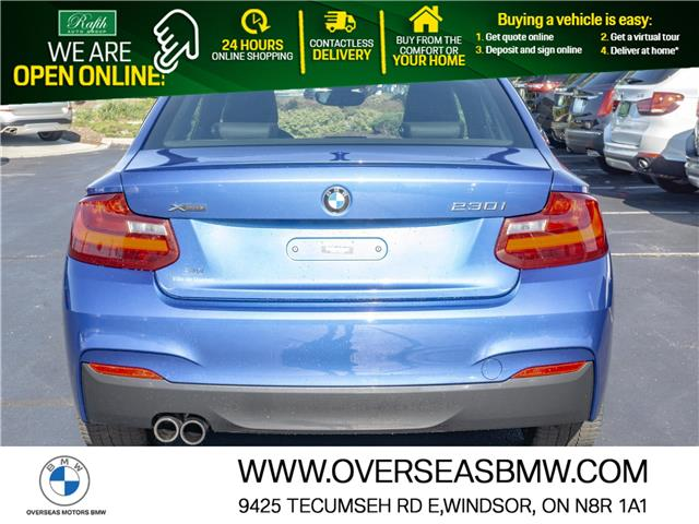 2017 BMW 230i xDrive (Stk: P8595) in Windsor - Image 1 of 8