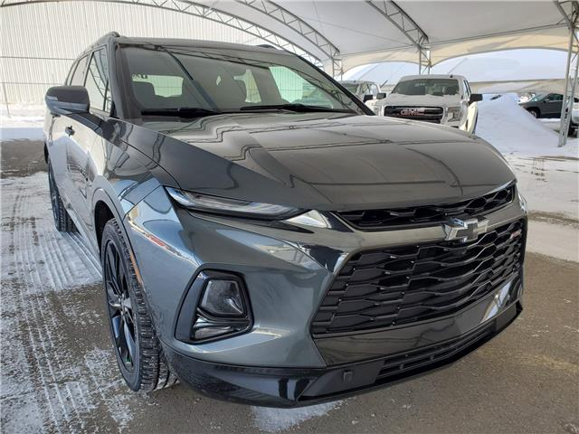 2019 Chevrolet Blazer RS 3GNKBJRS5KS672037 189119 in AIRDRIE