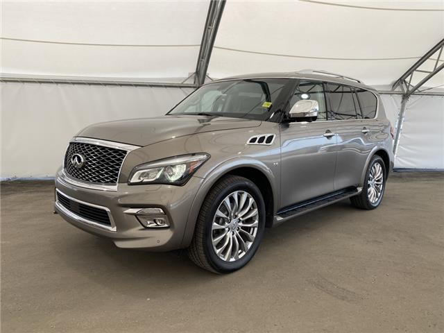 2016 Infiniti QX80 Base 7 Passenger (Stk: 191765) in AIRDRIE - Image 1 of 21