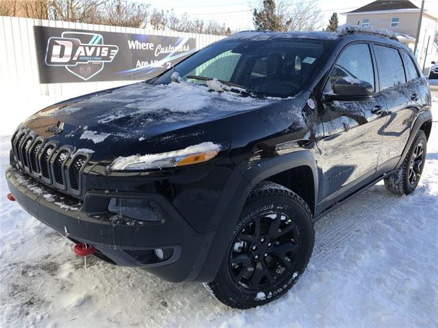 2018 Jeep Cherokee Trailhawk (Stk: 12436) in Fort Macleod - Image 1 of 22