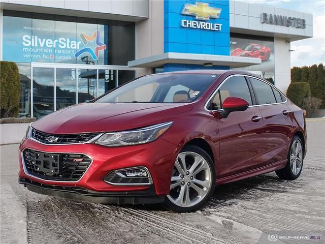 2017 Chevrolet Cruze Premier Auto (Stk: P20690A) in Vernon - Image 1 of 26