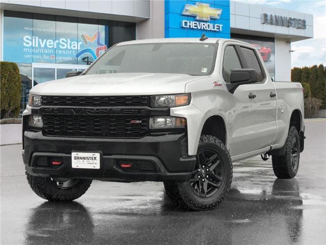 2019 Chevrolet Silverado 1500 Silverado Custom Trail Boss (Stk: 21837A) in Vernon - Image 1 of 26