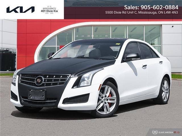 2013 Cadillac ATS 2.0L Turbo Luxury (Stk: FO21078A) in Mississauga - Image 1 of 27