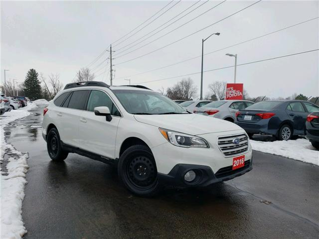 2016 Subaru Outback 3.6R Limited Package (Stk: P2449B) in Whitchurch-Stouffville - Image 1 of 19