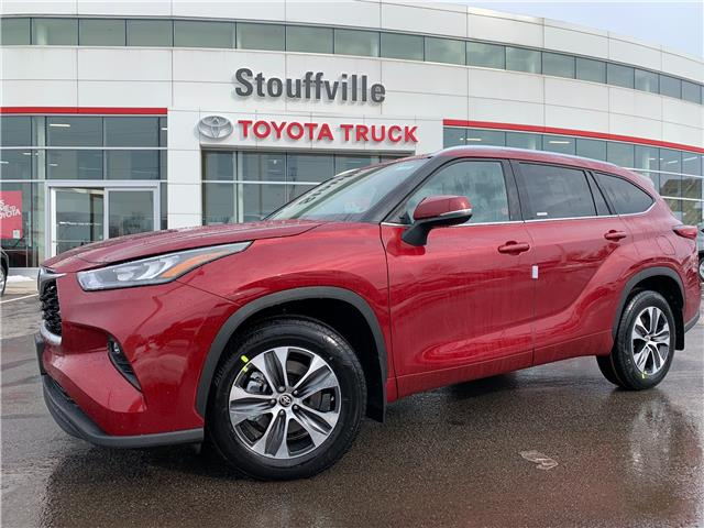 2021 Toyota Highlander XLE (Stk: 210411) in Whitchurch-Stouffville - Image 1 of 28