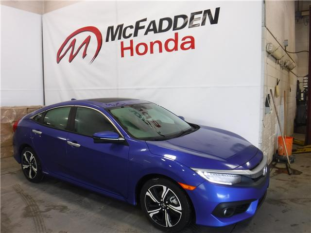 2018 Honda Civic Touring (Stk: 1382) in Lethbridge - Image 1 of 14