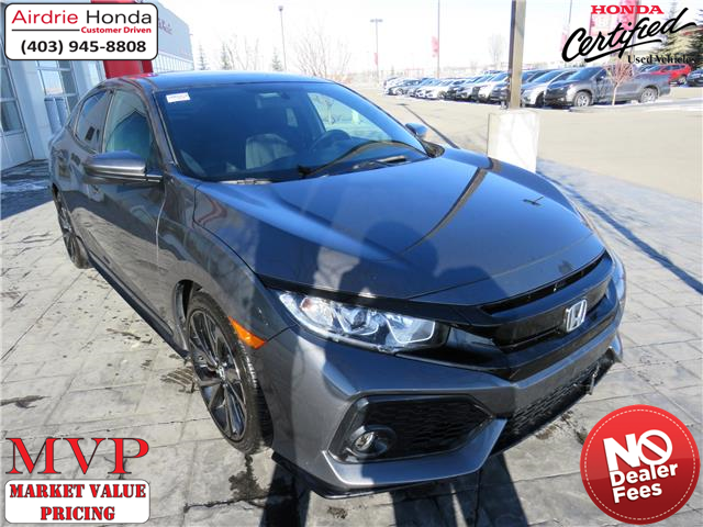 2018 Honda Civic Sport (Stk: 200147A) in Airdrie - Image 1 of 33