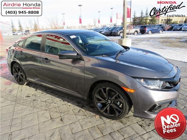 2020 Honda Civic Sport (Stk: 200564A) in Airdrie - Image 1 of 30