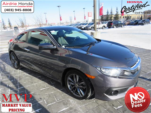 2018 Honda Civic Touring (Stk: 206573A) in Airdrie - Image 1 of 30
