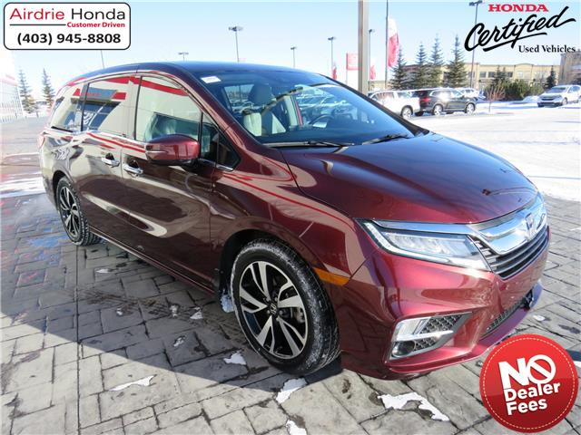 2018 Honda Odyssey Touring (Stk: 210056A) in Airdrie - Image 1 of 41
