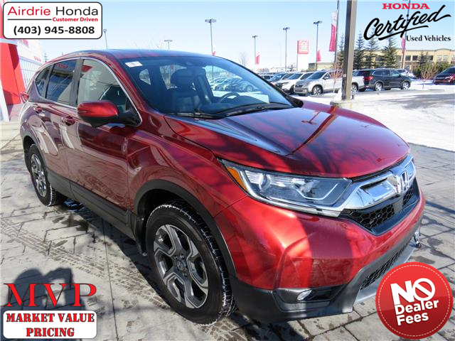 2019 Honda CR-V EX-L (Stk: 200095A) in Airdrie - Image 1 of 37