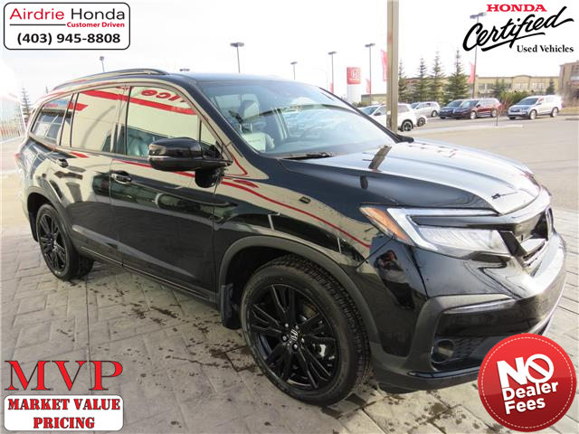 2020 Honda Pilot Black Edition (Stk: 216211A) in Airdrie - Image 1 of 8
