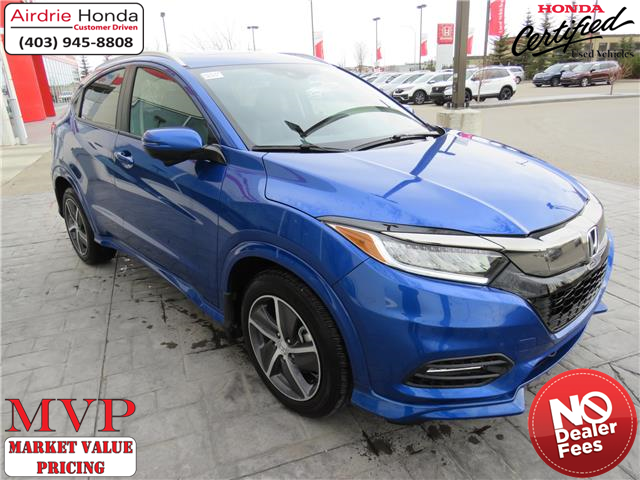 2019 Honda HR-V Touring (Stk: U1737) in Airdrie - Image 1 of 31